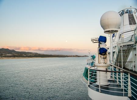 lucas: Coast of Cabo San Lucas from Cruise Ship