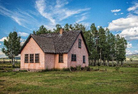 jackson: Old Farmhouse,  Jackson Hole, Wyoming