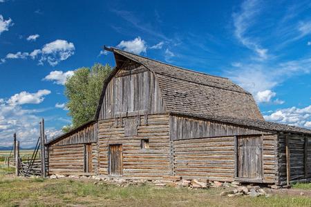 jackson: Old Barn, Jackson Hole, Wyoming