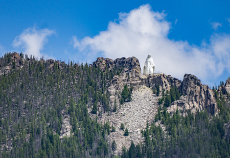 Our Lady of the Rockies, Butte, Montana.