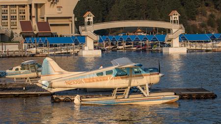 coeur: Seaplane on Lake Coeur dAlene, Idaho