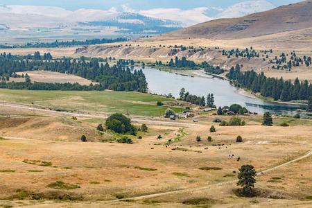 flathead: Flathead River, National Bison Range, Montana