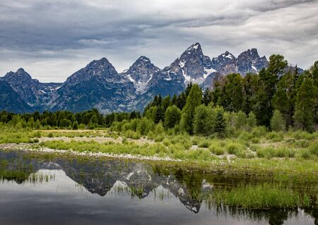 wyoming: Schwabachers Landing, Grand Tetons, Wyoming