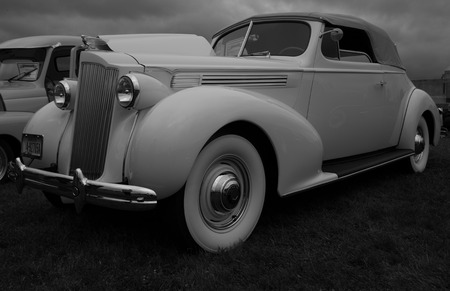 Classic Packard, Kool April Nights Auto Show, Redding, California. Editorial