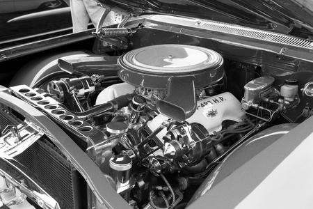 Hot Rod Engine, Kool April Nights, Redding, California