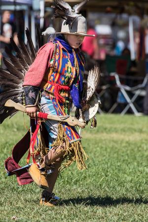 Native American Dancers, Stillwater Powwow, Anderson, California.
