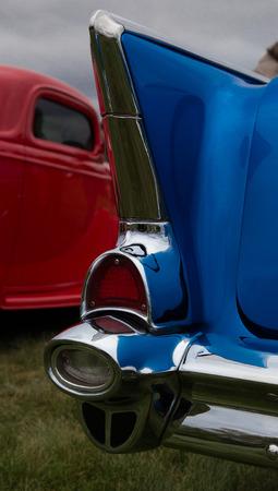 Classic Tail Fin, Kool April Nights Car Show, Redding, California