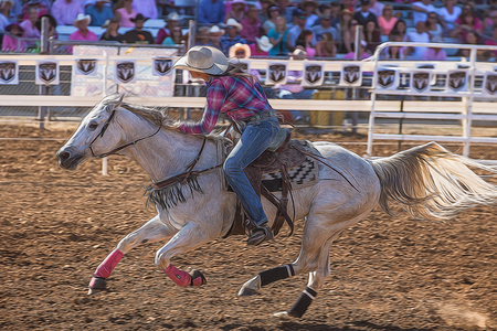 red bluff: Barrel Racer Gallop, Red Bluff Round Up, California Editorial