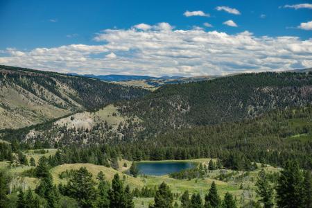national park: Yellowstone National Park Panorama