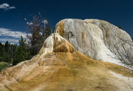 mound: Orange Spring Mound, Yellowstone