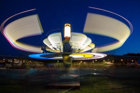 carnival ride: Spinning Carnival Ride