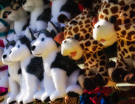 stuffed animal: Stuffed Animal Midway Prizes