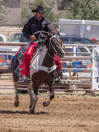 pima: Redding Rodeo Drill Team, Cottonwood Rodeo, Cottonwood, California.