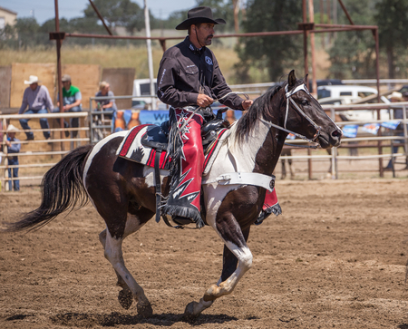 Redding Rodeo Drill Team, Cottonwood Rodeo, Cottonwood, California.