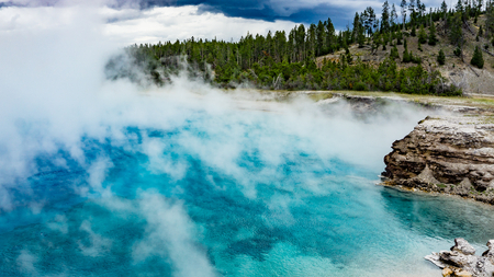 turquise: Turquise Pool Geyser, Yellowstone National Park  Wyoming