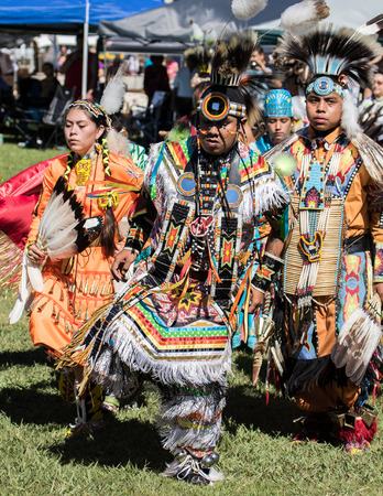 pow: Native American Dancer at Stillwater Pow Wow, Anderson, California.