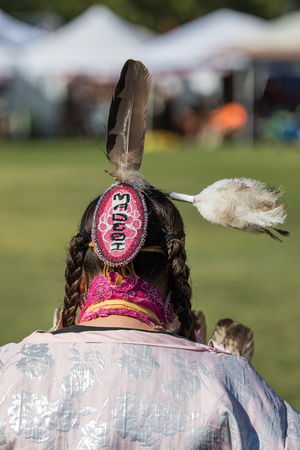 Native American Dancer at Stillwater Pow Wow.