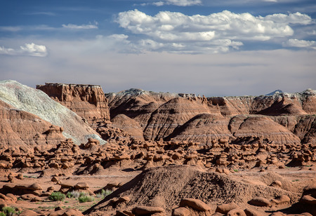 state park: Goblin Valley State Park, Utah. Oddly shaped rock formations nicknamed goblins because of their spooky appearance .
