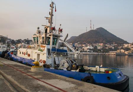 Tugboat: Tugboat in Manzanillo