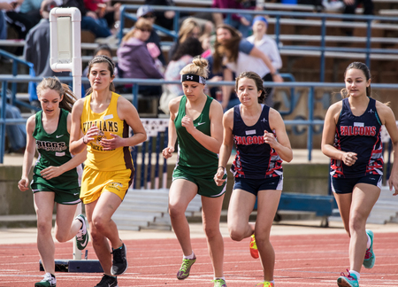 williams: City of Shasta Lake, California. Womens 1600 meters at the Burt Williams Track and Field Classic.