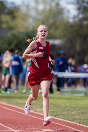 williams: City of Shasta Lake, California. Womans leader in the 1600 meters at the Burt Williams Track and Field Classic.