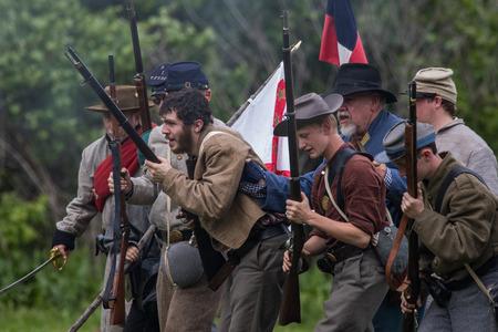 南北戦争、レッドブラフ、カリフ...