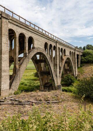 Railroad bridge in the Palouse area of eastern Washington.