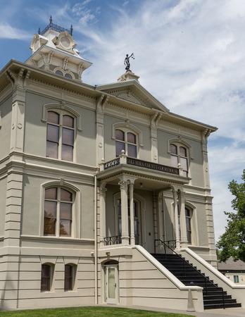 palouse: Columbia County Courthouse in Dayton, Washington in the Palouse region. Editorial