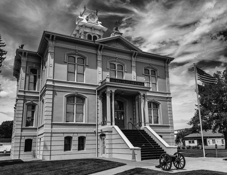 palouse: Columbia County Courthouse in Dayton, Washington in the Palouse region. Editorial