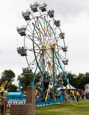 county: Ferris Wheel at the Shasta County Fair in Anderson, California.