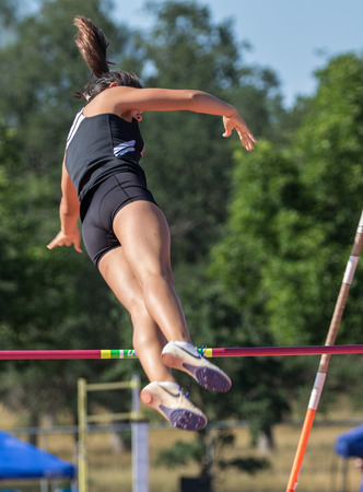 williams: Track and field action at the northern California championships in Cottonwood, California.