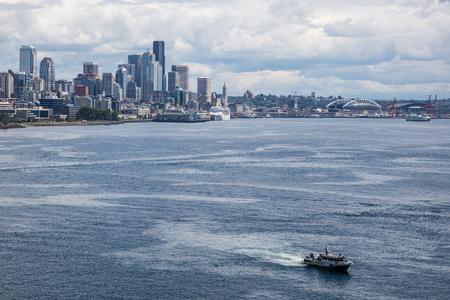 elliot: Sailing in Elliot Bay, Seattle, Washington.