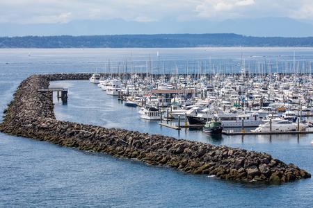 elliot: Elliot Bay, Seattle, Washington. Editorial
