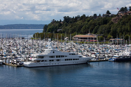 elliot: Elliot Bay Marina, Seattle, Washington.