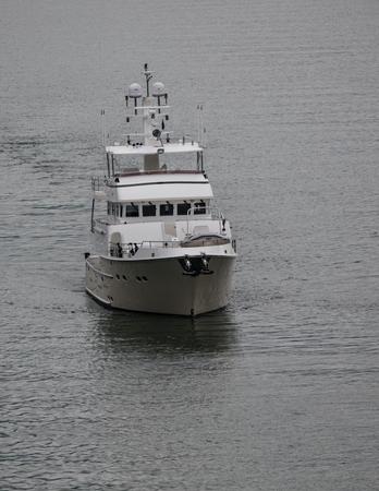 charter: Charter boat in Alaskas Inner Passage.