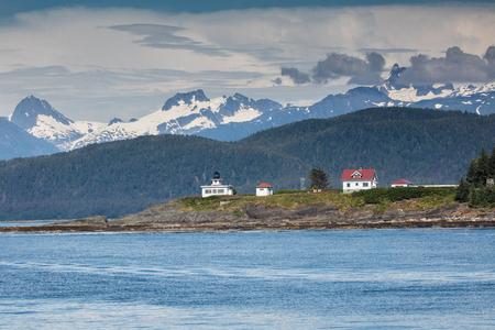 retreat: Point Retreat on Admiralty Island, Alaska.