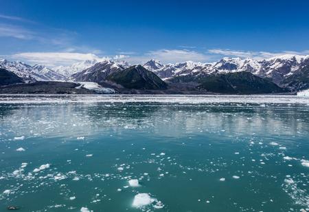 turner: Hubbard Glacier in Alaska. Stock Photo