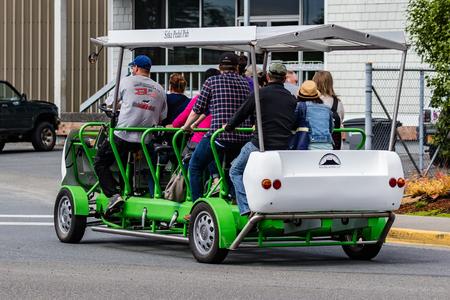 sitka: Pedal tour in Sitka, Alaska.