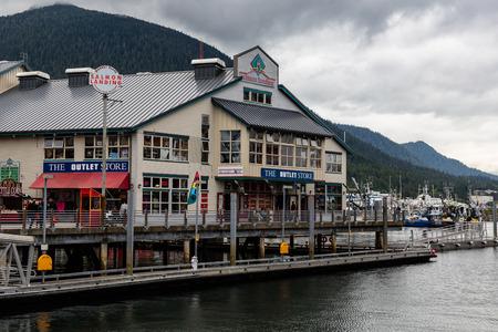 alaska: Storefront in Ketchikan, Alaska.