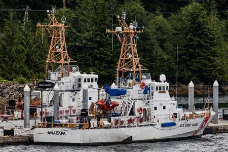 sitka: Coast Guard cutters in Juneau, Alaska.