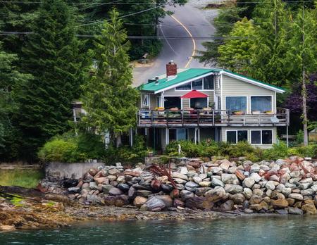 sitka: Seaside home in Juneau, Alaska.