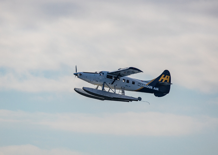 Seaplane in Victoria, Canada.
