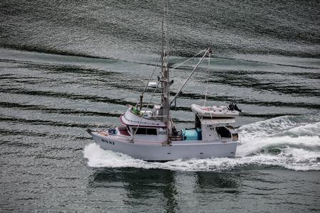 alaska: Fishing boat in Alaska. Editorial