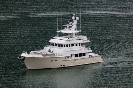 charter: Fishing charter boat in Alaska. Editorial