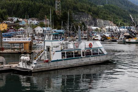 alaska: Fishing boats in Alaska.