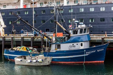 sitka: Fishing boats in Alaska.