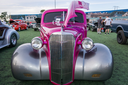Classic car at the Kool April Nights Show in Redding, California. Editorial