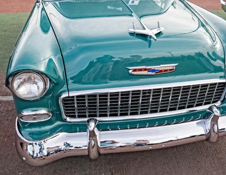 Classic car at the Kool April Nights Show in Redding, California. Editorial