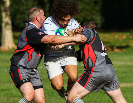 rosa: Rugby Action in Redding, California. Editorial