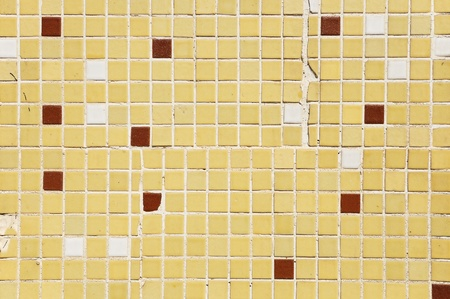 ramshackle: Multi colored small square tiles abstract pattern background